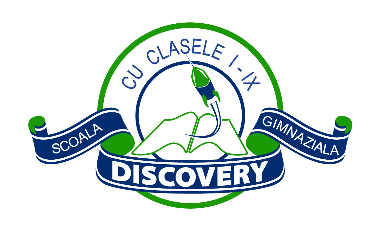 Logo Design Sigla Scoala Gimnaziala Discovery