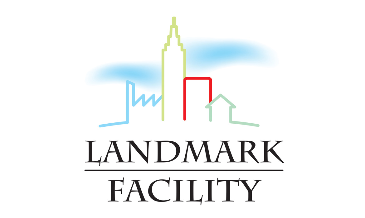 Logo Design Sigla Landmark Facility